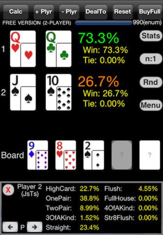 iPhone PokerCruncher FREE