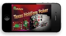 mFortune Mobile Texas Hold'em