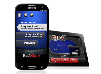 RedKings Android Poker App for Smartphone and Tablet