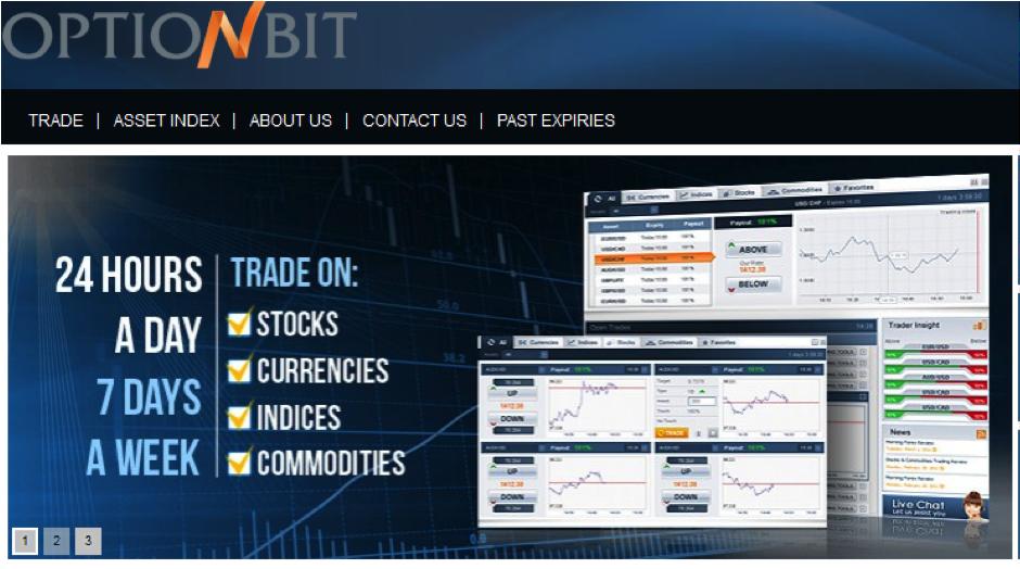 Optionbit trading tools