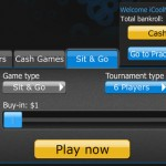 Poker by 888 Poker on iPhone App Sit & Go's