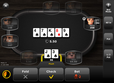 bwin poker ipad