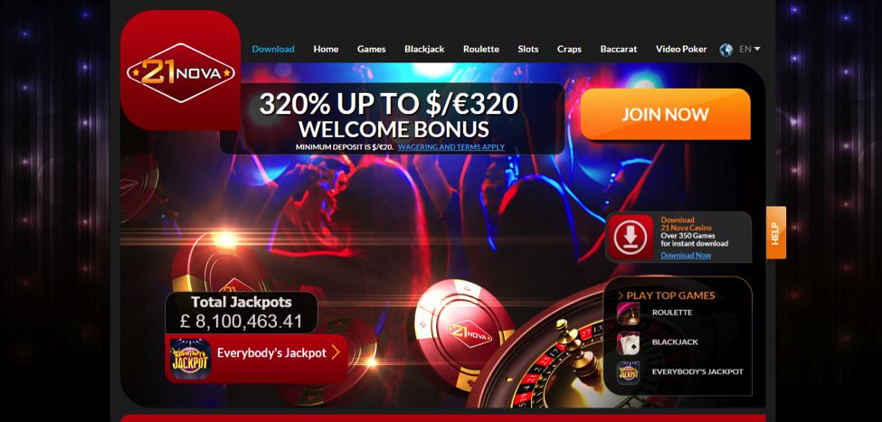 почему не работает казино 21 nova