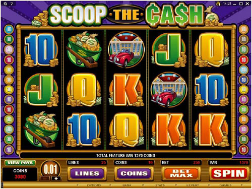 online casino cash game slots